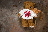 Handmaid teddy — Stock Photo