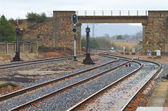 Train line — Stock Photo