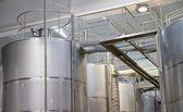 Vinframställningen utrustning — Stockfoto