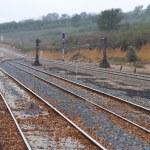 Train line — Stock Photo #10453305