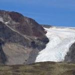 Glacier tongue — Stock Photo