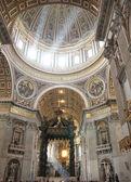 Saint Peter's dome — Stock Photo