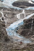 Blue Glacier in Norway — Stock Photo
