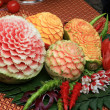 Fruit carving - Stock Photo
