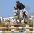 Mediterranean Equestrian Tour - Stock Photo