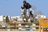 Mediterranean Equestrian Tour — Stock Photo