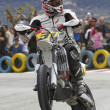 Stock Photo: Spanish championship of supermotard