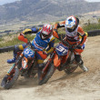Spanish championship of supermotard - Stock Photo
