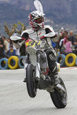 Spanish championship of supermotard — Stock Photo