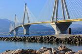 Rio - Antirrio Bridge, Greece — Stock Photo