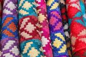 Wool scarfs — Stock Photo