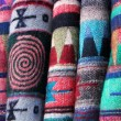 Stock Photo: Nepali scarfs