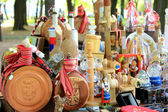 Traditional souvenirs from Serbia — Stock Photo