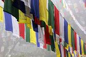 Prayer Flags in Lumbini — Stock Photo