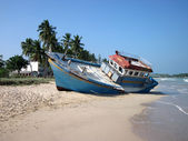 Shipwreck of Trincomalee, Sri Lanka — Stock Photo