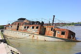 Shipwreck of Belgrade, Serbia — Stock Photo