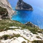 Little island, Zante, Greece — Stock Photo