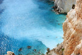 Beautiful cove, Zakynthos, Greece — Stock Photo