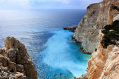 Azure... Zante island, Greece — Stock Photo