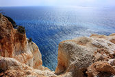 Zakynthos island, edge — Stock Photo