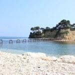 Cameo islet on Laganas bay, Zakynthos — Stock Photo #10503421