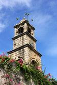 The clock tower at Dutch Fort, Negombo, Sri Lanka — Stock Photo
