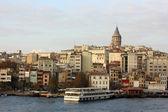 The city of Istanbul, Turkey — Stock Photo