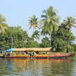 Stock Photo: Alleppey Backwaters, Kerala, India
