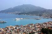 The city of Zakynthos, Hellas — Stock Photo