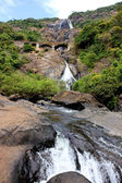 Dudh Sagar waterfall in Goa — Stock Photo