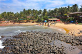 Candolim Beach, view from the fort, Goa — Stock Photo