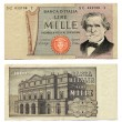 Old Italian Money - Stock Photo