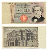 Old Italian Money — Stock Photo