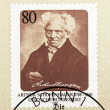 Arthur Schopenhauer Stamp — Stock Photo