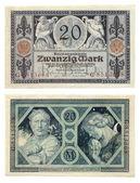 Old German Money — Stock Photo