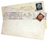 Hindenburg Stamps — Stock Photo