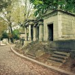 Pere Lachaise Cemetery — Stock Photo