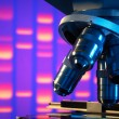 Close up of laboratory microscope — Stock Photo