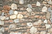 Wall of sandstone — Stock Photo