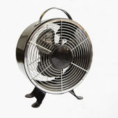 Metal fan — Foto Stock