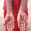 Henna tatoo — Stock Photo