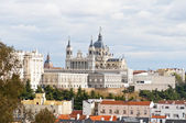 View of the city of Madrid — Stock Photo