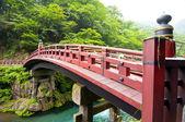Red Bridge Shinkyo in Nikko, Japan — Stock Photo