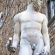 The fountain of Neptune in Florence — Stock Photo
