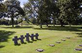 German cemetery — Stock Photo