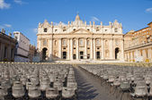 St. Peter's Basilica, Rome, Italy — Stock Photo