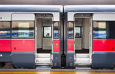Train cars — Stock Photo