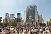 Shibuya crossing ,Japan — Stock Photo