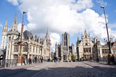 Cathedral of Ghent — Stock Photo