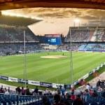 ������, ������: Vicente Calderon soccer stadium Madrid